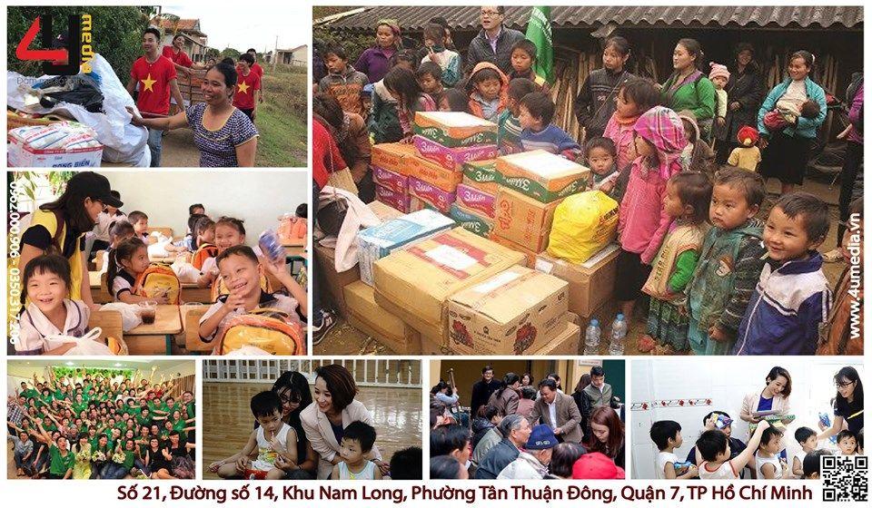 4u media tổ chức từ thiện