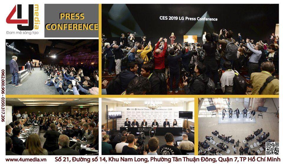 4u media sự kiện họp báo