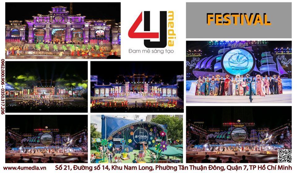 4u media tổ chức lễ hội