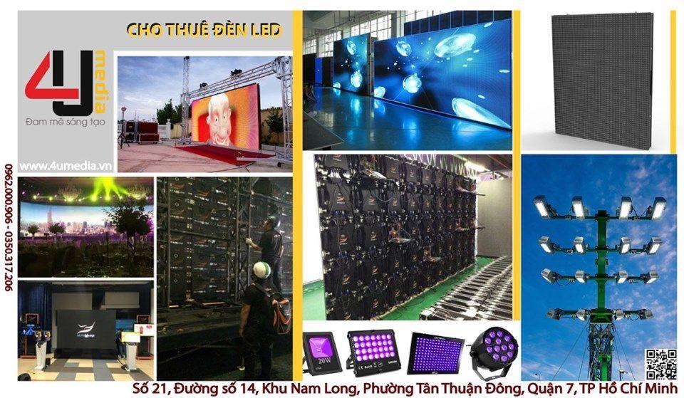 4u media cho thuê màn hình LED