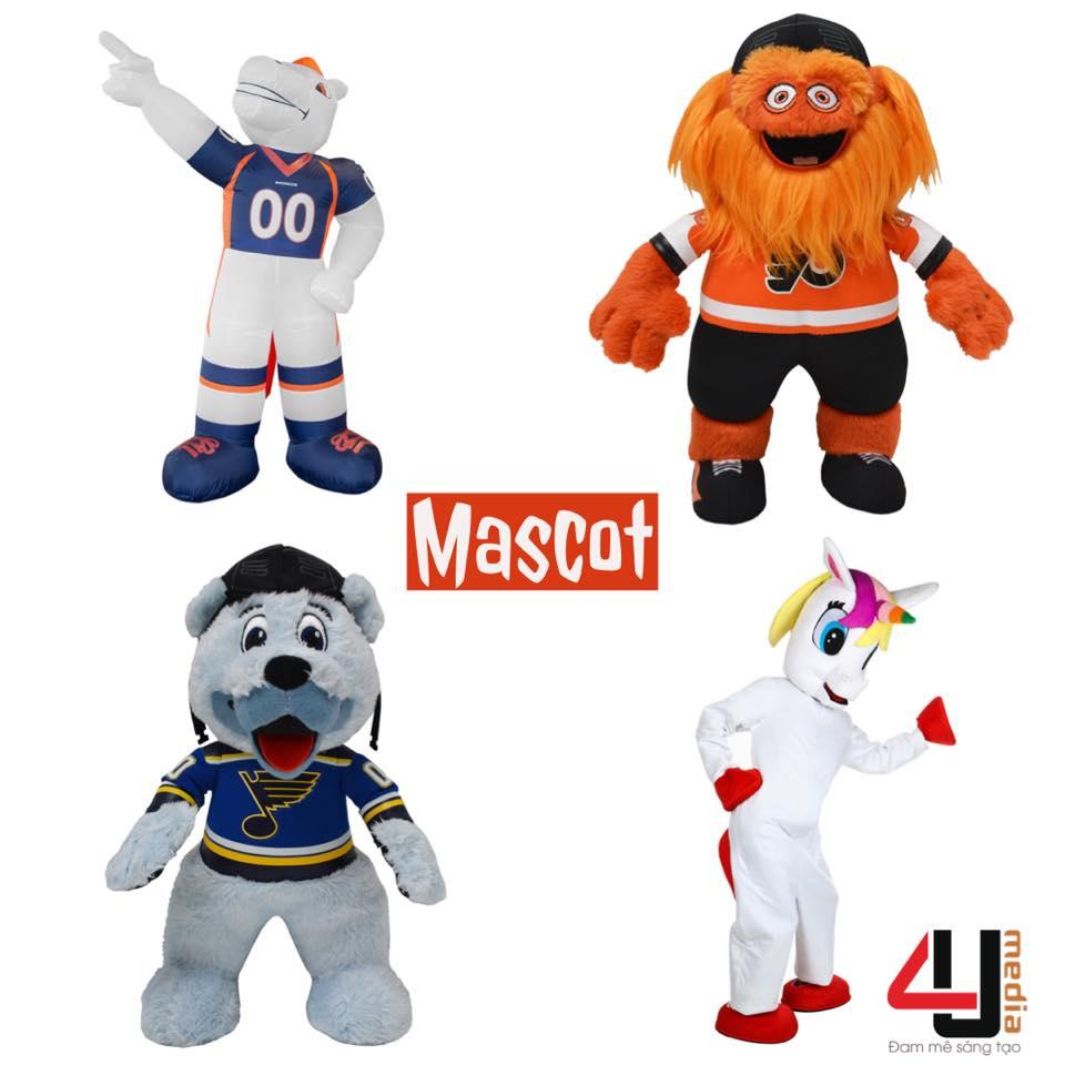 4u media dịch vụ cung cấp mascot