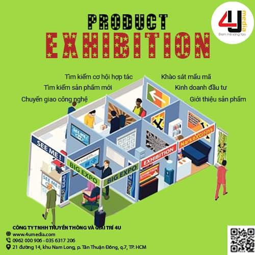4u media triển lãm và trưng bày sản phẩm