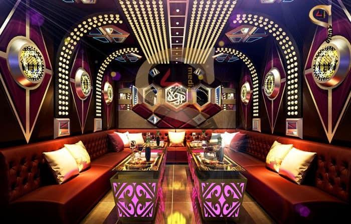 4u studio thiết kế nội thất phòng karaoke